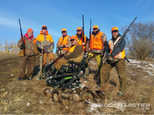 hunting wheelchair - hunting group
