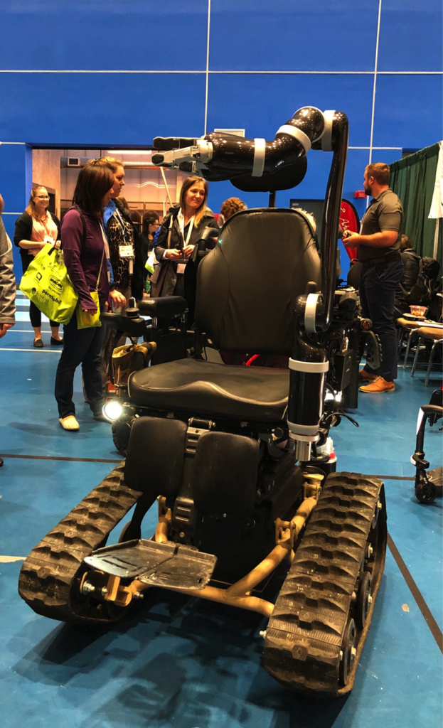 TrackMaster Tracked Wheelchair